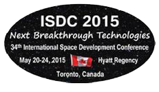 International Space Development Conference – May 20-24, 2015