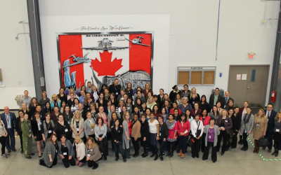 Lunch, Learn and Tour at MHI Canada Aerospace Inc. Feb 24