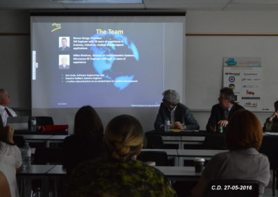 AFLARE SYSTEMS ROMAN RONGE, PRESIDENT & CEO - CAREER DAY AT FANSHAWE COLLEGE