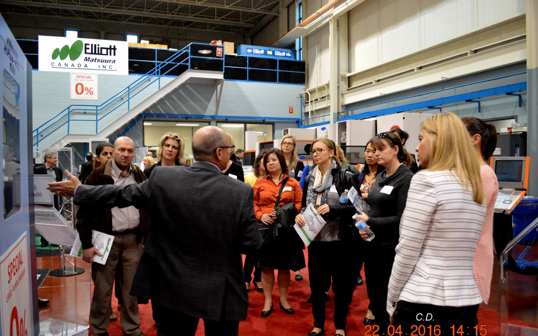 April 2017 Lunch, Learn, and Tour Hosted by Elliott Matsuura
