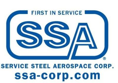 Service Steel SSA Logo in blue #2