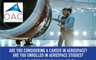 OAC Scholarships for Aerospace Studies – Call for Applications